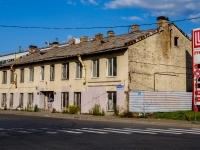 Кировский район, улица Метростроевцев, дом 22. неиспользуемое здание