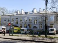 Кронштадтский район, улица Восстания, дом 24. поликлиника