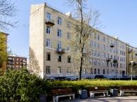 Кронштадтский район, улица Карла Либкнехта, дом 24. многоквартирный дом