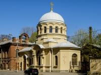 Кронштадтский район, улица Мануильского, дом 2Е. церковь Николая Чудотворца в Морском госпитале