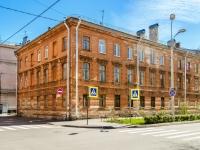 Кронштадтский район, улица Сургина, дом 10. многоквартирный дом