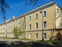 Кронштадтский район, площадь Якорная, дом 2. офисное здание