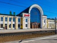 , st Vokzalnaya (g.zelenogorsk), house 2. railway station