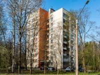 , st Komsomolskaya (g.zelenogorsk), house 13. Apartment house