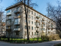 Курортный район, улица Комсомольская (г.Зеленогорск), дом 21. многоквартирный дом