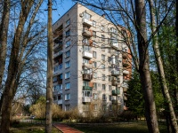 , st Komsomolskaya (g.zelenogorsk), house 25. Apartment house