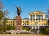 Курортный район, Ленина (г.Зеленогорск) проспект. памятник В.И.Ленину