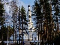 , road Primorskoe (g.zelenogorsk), house 547. temple