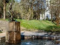 , road Primorskoe (g.zelenogorsk). fountain