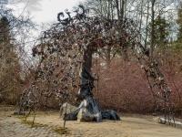 , road Primorskoe (g.zelenogorsk). sculpture