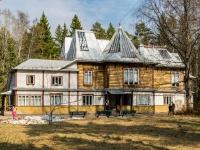, road Primorskoe (p.repino), house 411. museum