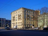 Московский район, Московский проспект, дом 64. многоквартирный дом