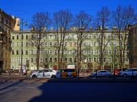 Московский район, Московский проспект, дом 66А. многоквартирный дом