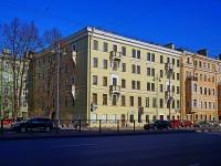 Московский район, Московский проспект, дом 68. многоквартирный дом