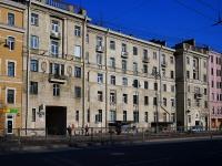 Московский район, Московский проспект, дом 72. многоквартирный дом
