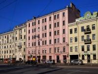 Московский район, Московский проспект, дом 74А. многоквартирный дом