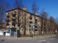 Московский район, улица Ленсовета, дом 9. многоквартирный дом