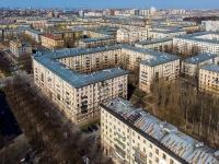 Московский район, улица Ленсовета, дом 10. многоквартирный дом