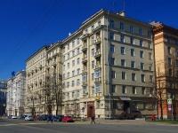 Московский район, улица Авиационная, дом 9. многоквартирный дом