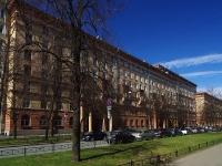 Московский район, улица Авиационная, дом 11. многоквартирный дом