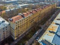 Московский район, улица Авиационная, дом 13. многоквартирный дом