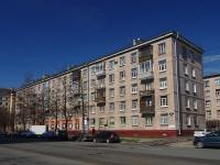 Московский район, улица Авиационная, дом 15. многоквартирный дом
