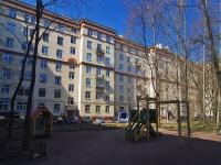 Московский район, улица Авиационная, дом 18. многоквартирный дом