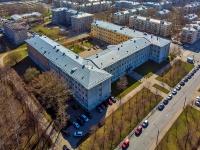Московский район, улица Авиационная, дом 21. университет Санкт-Петербургский государственный университет аэрокосмического приборостроения