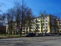 Московский район, улица Авиационная, дом 36. многоквартирный дом