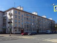 Московский район, улица Авиационная, дом 28. многоквартирный дом