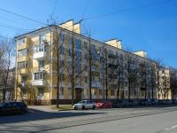 Московский район, улица Авиационная, дом 32. многоквартирный дом