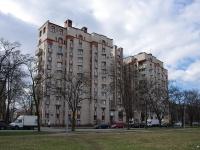 Московский район, улица Бассейная, дом 7. многоквартирный дом