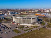 Юрия Гагарина проспект, дом 8. Cпортивно-концертный комплекс Петербургский