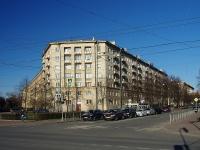 Московский район, улица Фрунзе, дом 10. многоквартирный дом