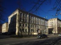 Московский район, улица Фрунзе, дом 12. лицей Физико-математический лицей №366