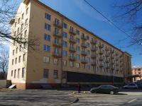 Московский район, улица Гастелло, дом 17. здание на реконструкции