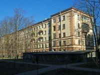 Московский район, Яковлевский переулок, дом 3. многоквартирный дом