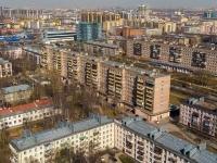 Московский район, Новоизмайловский проспект, дом 3. многоквартирный дом