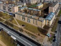 Московский район, Новоизмайловский проспект, дом 14. многоквартирный дом