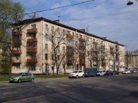 Московский район, улица Орджоникидзе, дом 11. многоквартирный дом
