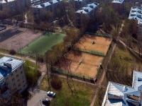Московский район, улица Орджоникидзе. спортивная площадка