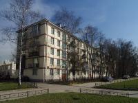 Московский район, улица Кубинская, дом 14. многоквартирный дом