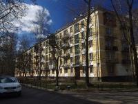 Московский район, улица Кубинская, дом 36. многоквартирный дом