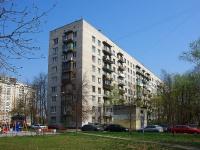 Московский район, улица Звездная, дом 4. многоквартирный дом
