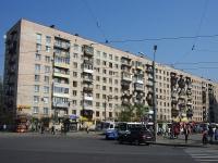 Московский район, улица Звездная, дом 8. многоквартирный дом