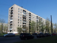 Московский район, улица Звездная, дом 14. многоквартирный дом