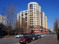 Московский район, улица Заозёрная, дом 3 к.2. многоквартирный дом
