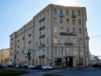 Московский район, улица Заозёрная, дом 20. многоквартирный дом