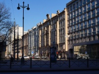 Московский район, улица Смоленская, дом 1. многоквартирный дом