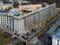 Московский район, улица Черниговская, дом 8 к.1. здание на реконструкции